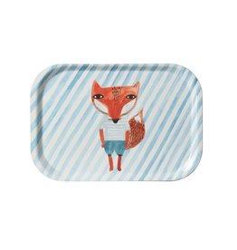 Fox Stripe Mini Tray