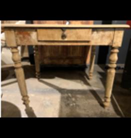 BLEACHED OAK TABLE F1911976