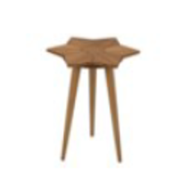 Petal Side Table, Gold Teak GTAB864GT