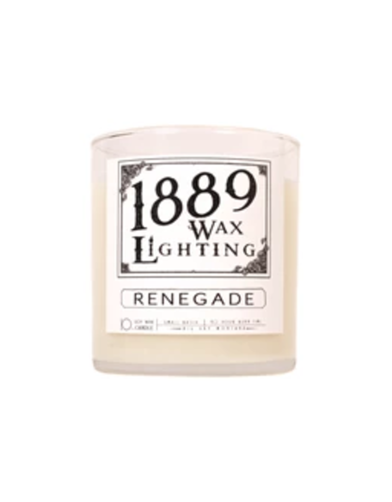 10oz Matte Black Renegade Candle