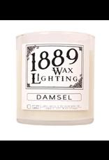 10oz Matte Black Damsel Candle