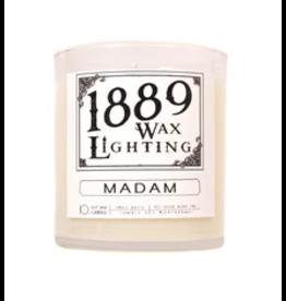 10oz Matte Black Madam Candle