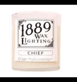 10oz Matte Black Chief Candle