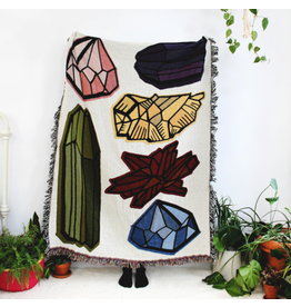 Gems and Crystals Blanket