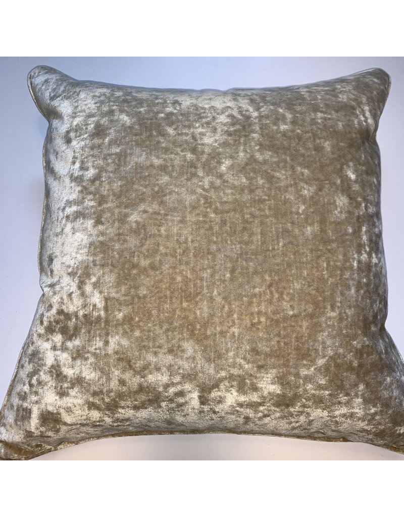 Square Gold Pillow 18x18