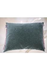 Green/ Pink Pillow 18x22