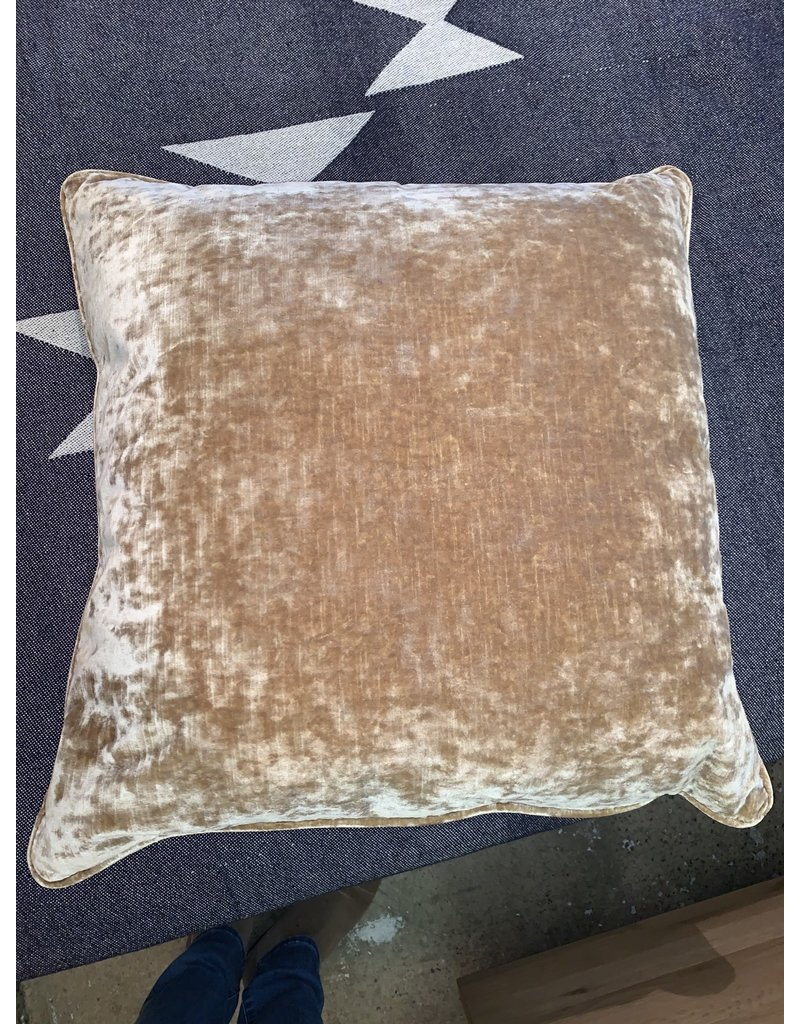 Square Gold Pillow 24x24
