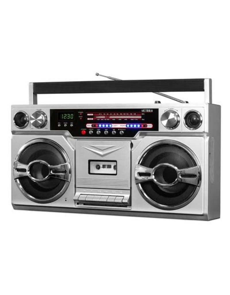 1980's Bluetooth Boombox w/ Cassette player and AM/FM Radio