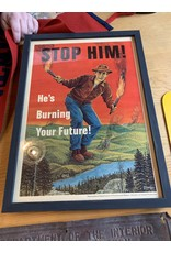Stop Him Forest Fire Prevention Poster *CS