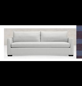 """Thursday Taper Arm Sofa, 96"""" long, Finish:Black fabric:3153"""