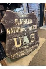 Flathead Sign  *CS*
