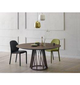 Miniforms | ACCO TABLE 155 cm BLACK ANILINE/ BLACK ASH
