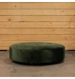 Biscotto Round Large Pouf Vegas Velet col 68