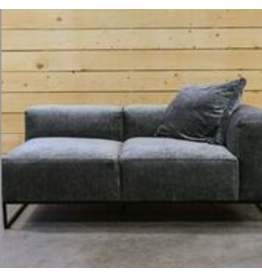 Kendrick Lounge Lacy Silver