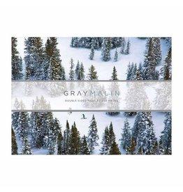 2 Sided Gray Malin Snow