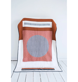 Patchwork Quilt in Coral - King