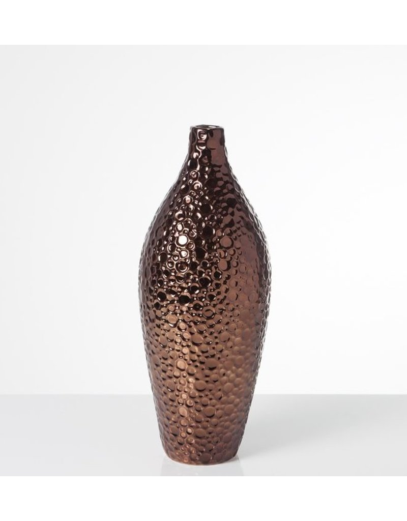 Lunar Vase, Copper, Tall