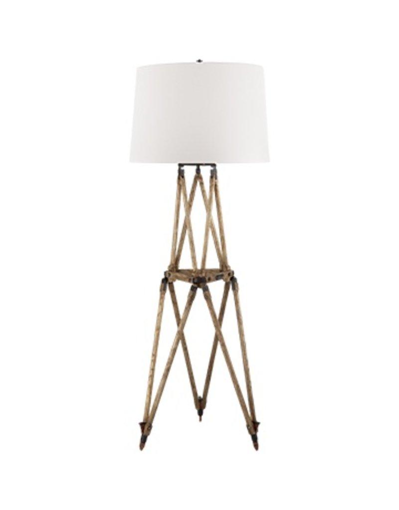 Quincy Floor Lamp Vintage Oak