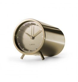 Tube Clock, Brass
