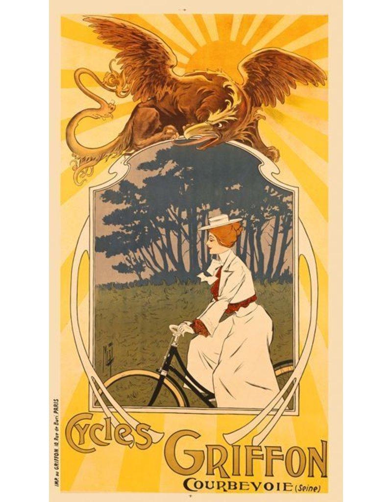 Griffon Cycles Print, Framed *CS