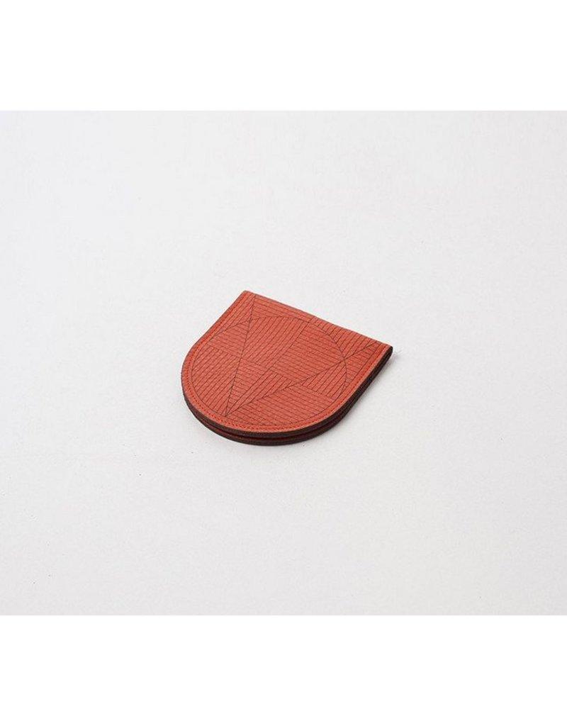 Laser Cut Half Moon Card Holder