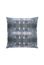 Polaris Beryl Pillow   Gray + Pink