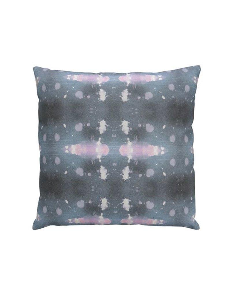 Polaris Beryl Pillow | Gray + Pink