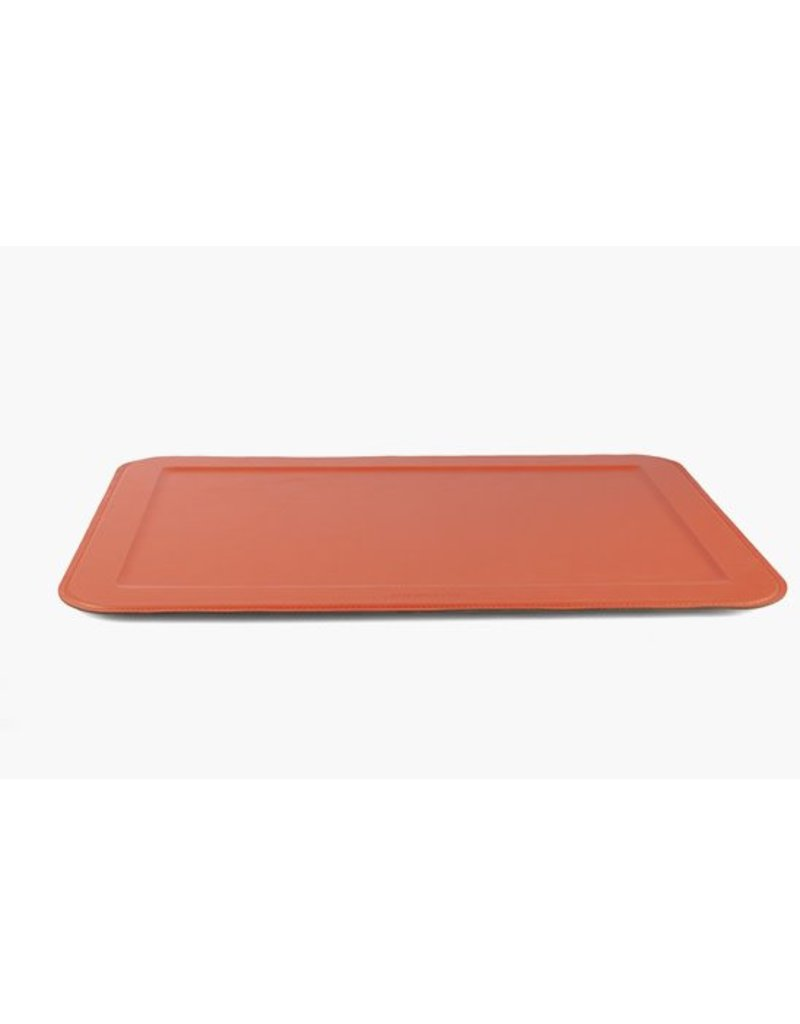 XL Rectangular Tray, Orange