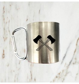 Iron Glory Stainless Mug, Axe