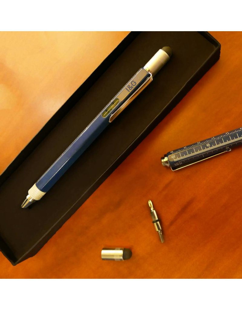 Iron Glory Tool Pen, Blue