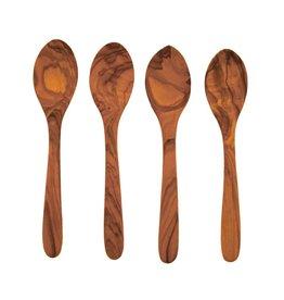 Olive Wood Set Spoons s/o 4 - Medium