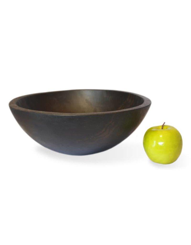 "Stinson Round Ebonized 19"" Bowl"