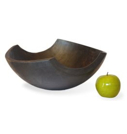 "Stinson Shard Ebonized 11"" Bowl"