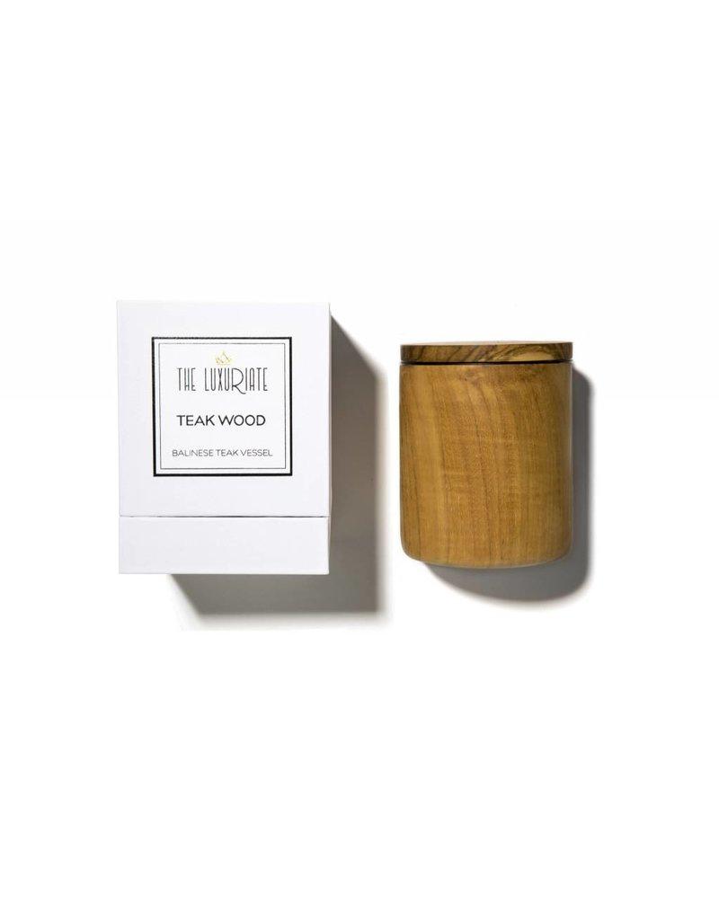 Luxuriate Teak Wood Vessel