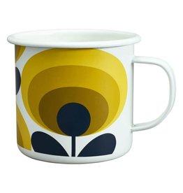 Enamel Mug 70's Flower Mug Dandelion 500 ML