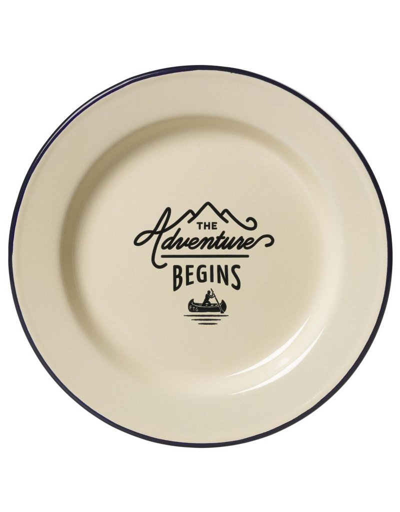 Adventure Enamel Plate