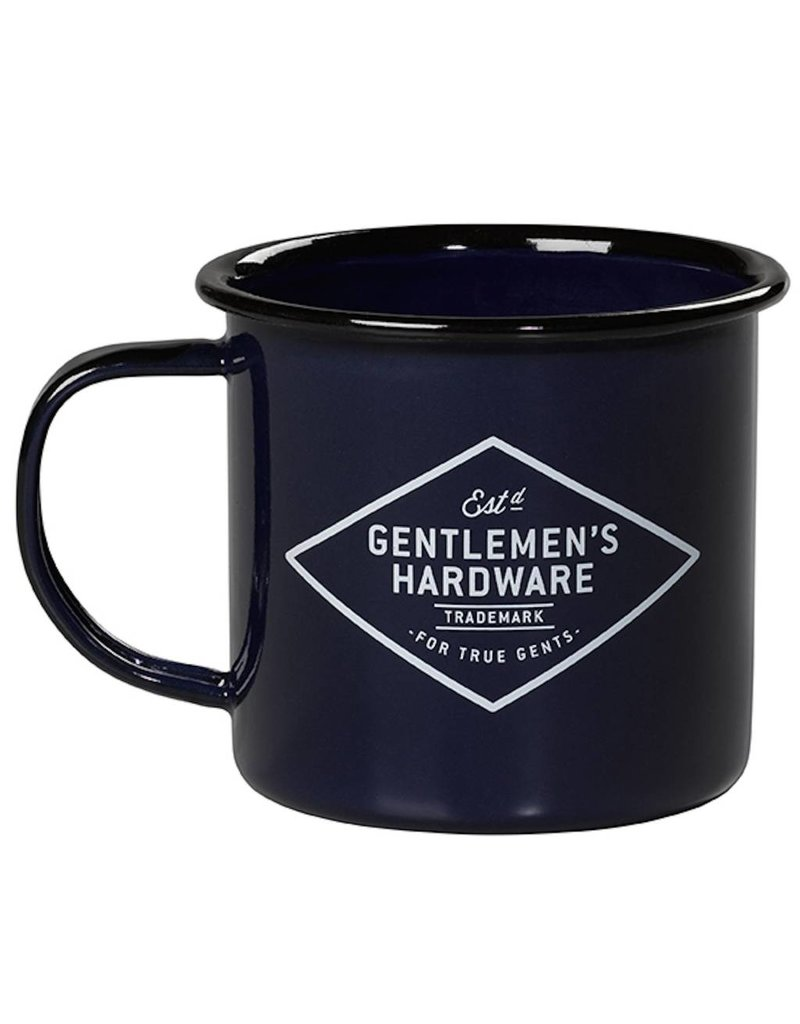 Adventure Enamel Mug, Blue