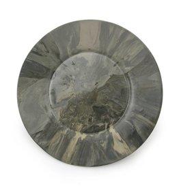 EdgeWood Plate | Marble Gray