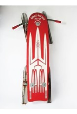 Space Rocket Vintage Sled