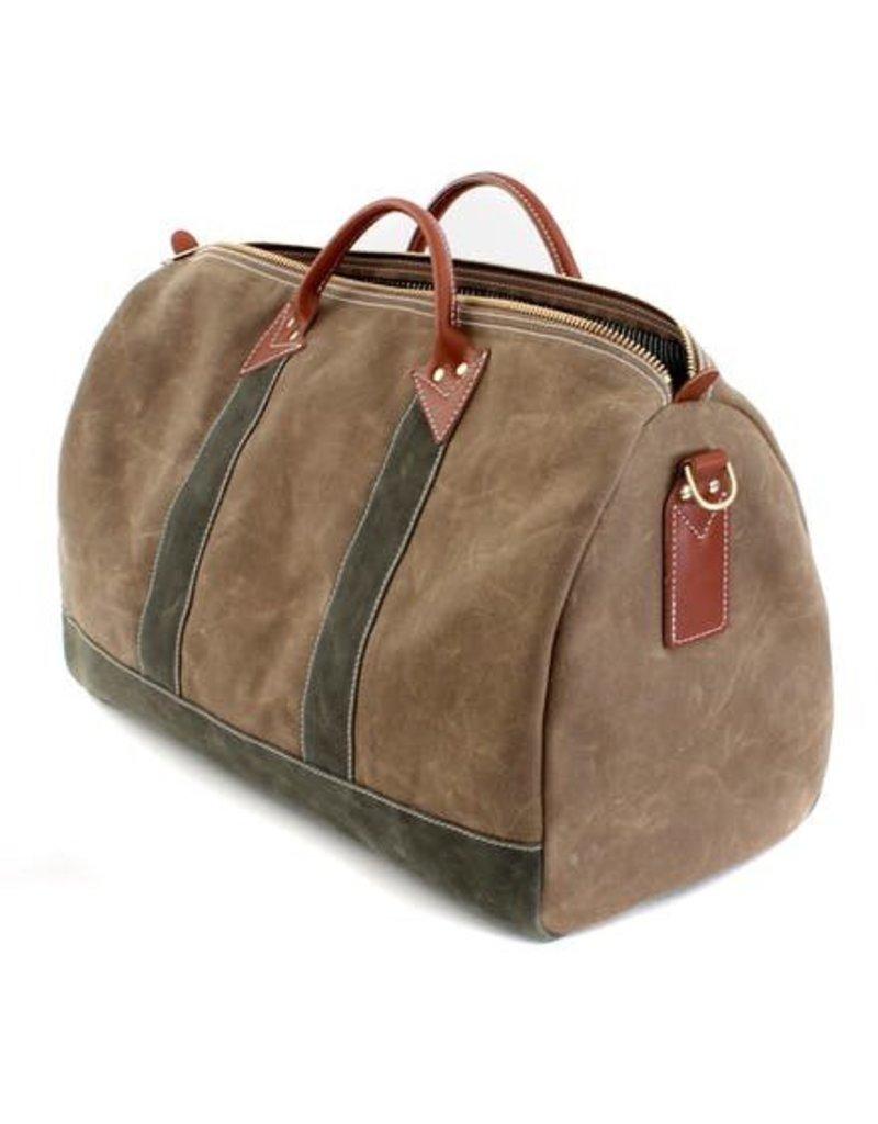 Duffle Bag, Olive and Ranger Tan