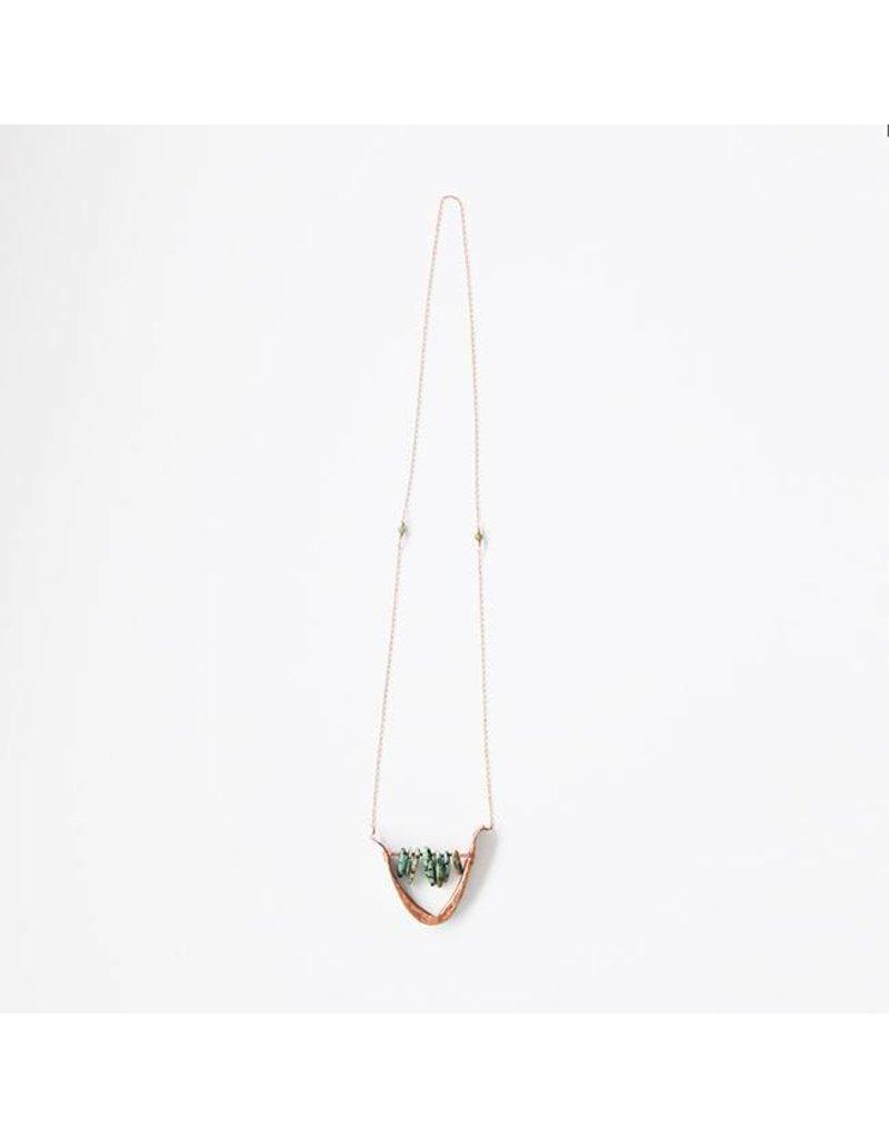 Cannelita Necklace, Copper