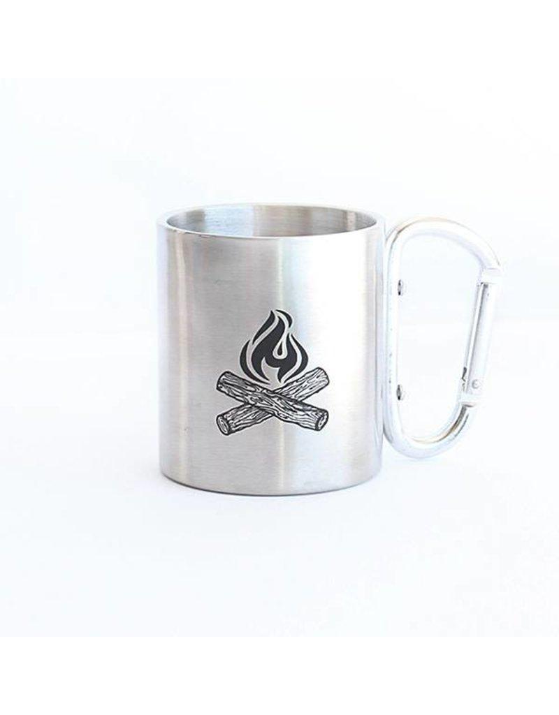 Iron Glory Stainless Mug, Campfire