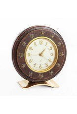 Jacques Adnet Style Desk Clock