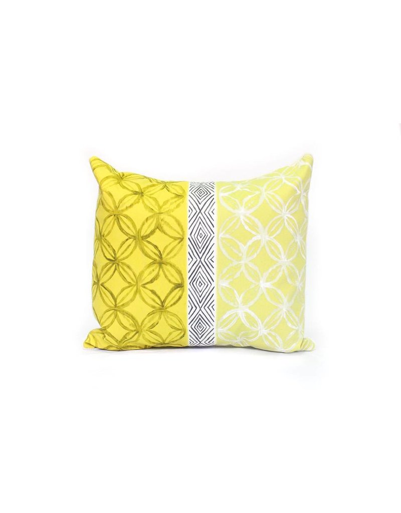 Nice Energy Pillow | Yellow + Black