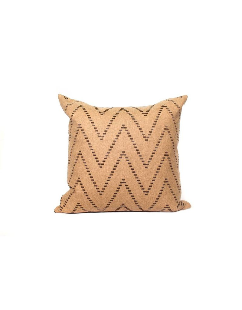 Rudolph Momentum Pillow | Tan + Brown
