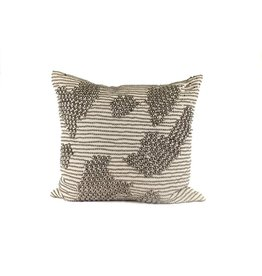 Studs Pillow | Burlap
