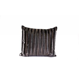 Velvet Crush Pillow | Black