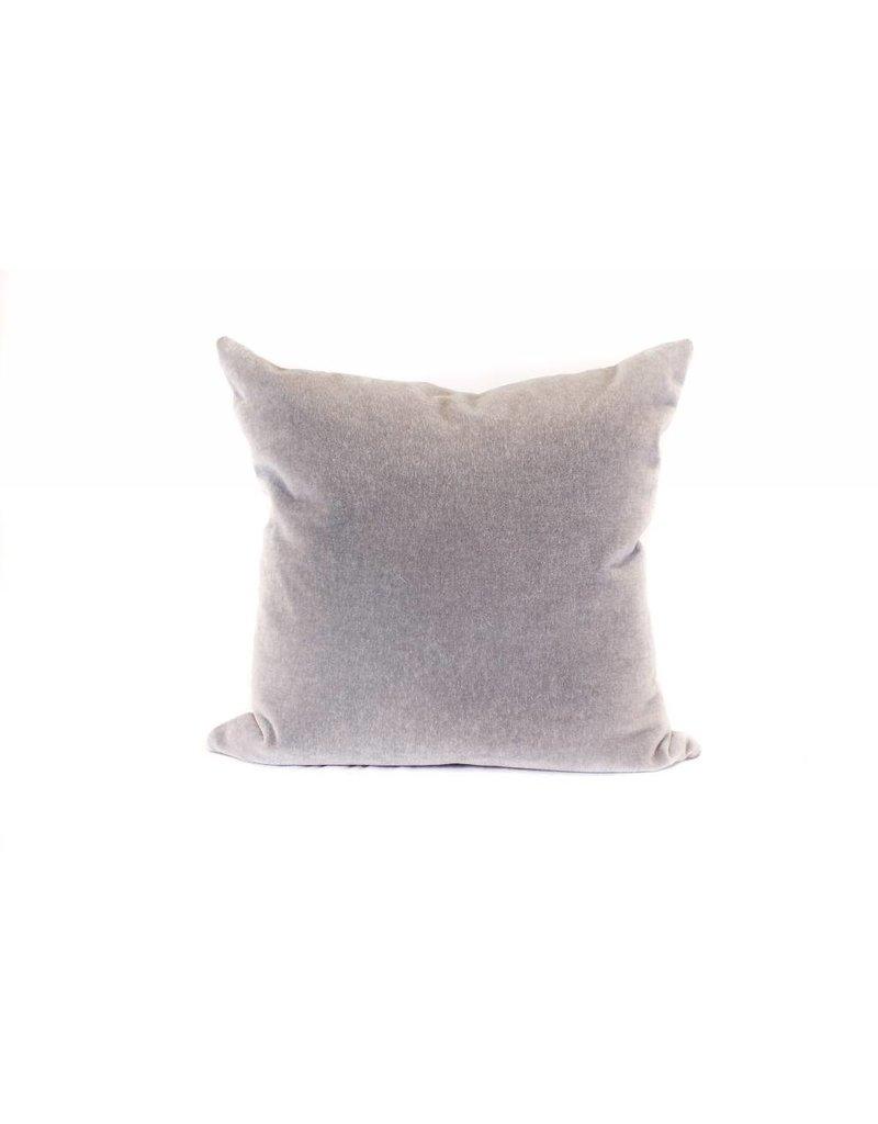 Mohair Pillow | Pewter