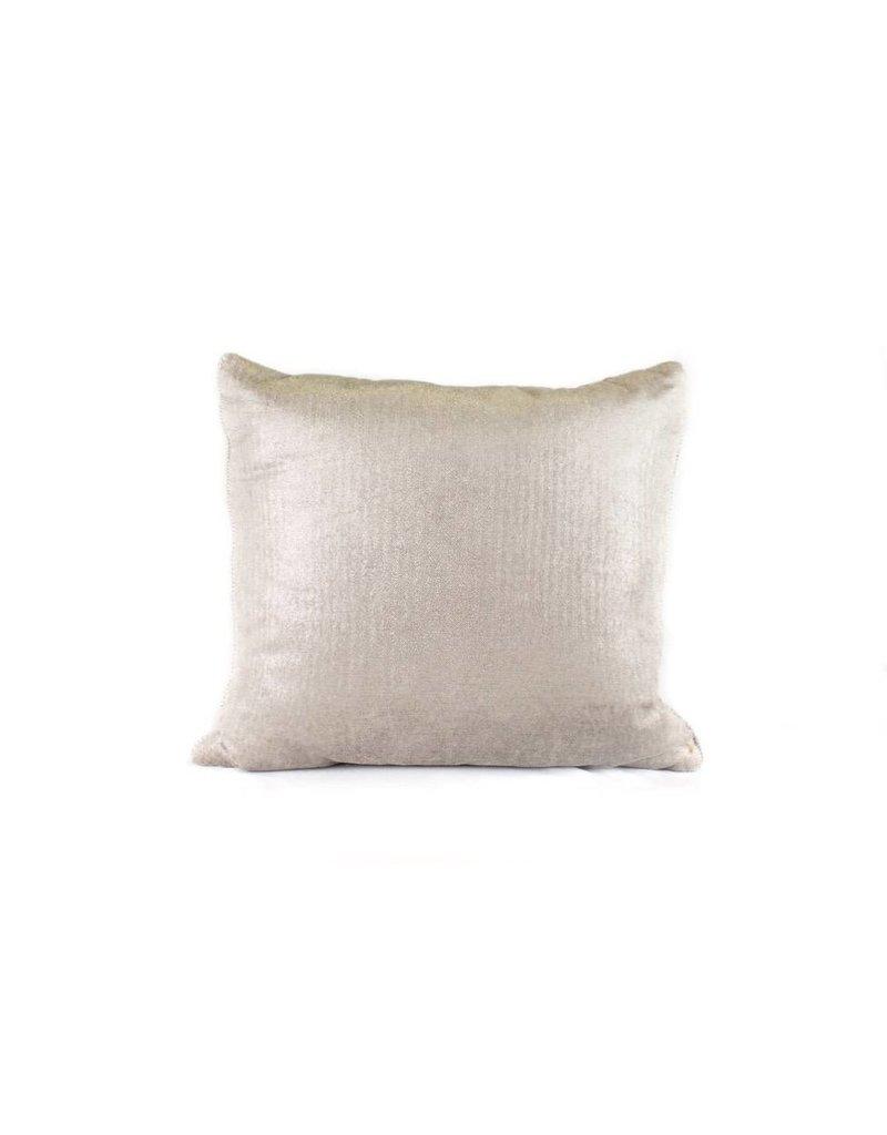 Herringbone Pillow   Silver