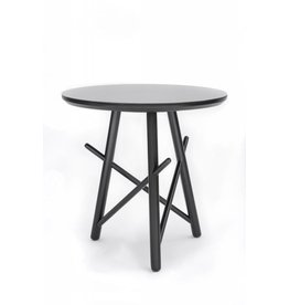 Xingu Side Table | Black Oak